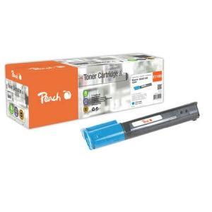 Peach  Tonermodul cyan, kompatibel zu Epson Aculaser C 1100 Series 7640148550192