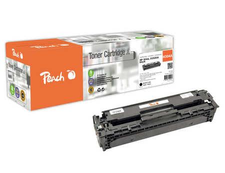 Peach  Tonermodul schwarz kompatibel zu HP Color LaserJet CP 2025 N
