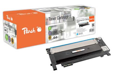 Peach  Tonermodul cyan kompatibel zu Samsung CLP-320 N