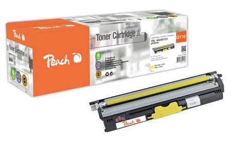 Peach  Tonermodul XL gelb kompatibel zu OKI C 110