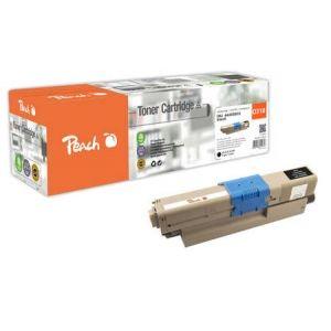 Peach  Tonermodul schwarz kompatibel zu OKI C 310 DN 7640148555753