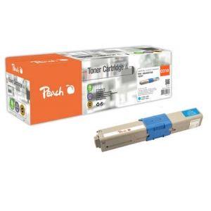 Peach  Tonermodul cyan kompatibel zu OKI C 310 DN 7640148555760