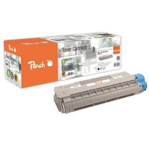 Peach  Tonermodul schwarz kompatibel zu OKI C 5800 DN 7640148555791