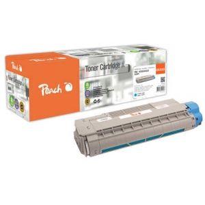 Peach  Tonermodul cyan kompatibel zu OKI C 5800 DN 7640148555807