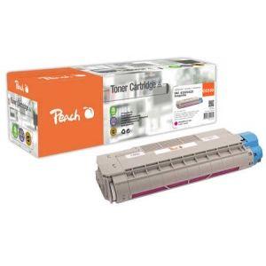 Peach  Tonermodul magenta kompatibel zu OKI C 5800 DN 7640148555814
