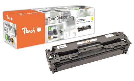 Peach  Tonermodul gelb, kompatibel zu HP LaserJet Pro 400 color M 451 dn
