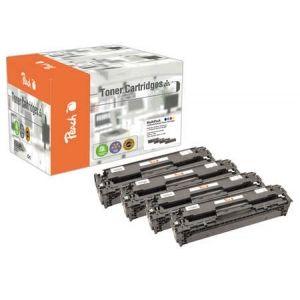 Peach  Spar Pack Tonermodule kompatibel zu HP Color LaserJet CP 2025 N 7640155894265