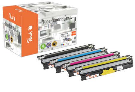 Peach  Spar Pack Tonermodule kompatibel zu OKI C 110