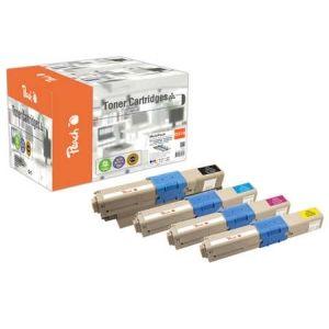 Peach  Spar Pack Tonermodule kompatibel zu OKI C 310 DN 7640155894395
