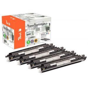 Peach  Spar Pack Tonermodule kompatibel zu HP LaserJet CP 1025 Color 7640155895859
