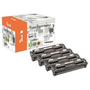 Peach  Spar Pack Tonermodule kompatibel zu HP LaserJet Pro 400 color M 451 dn 7640155895873