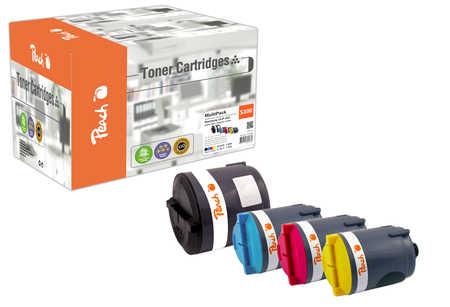 Peach  Spar Pack Tonermodule kompatibel zu Samsung CLP-300