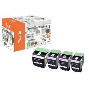 Peach  Spar Pack Tonermodule kompatibel zu Lexmark C 544 DN 7640155896764