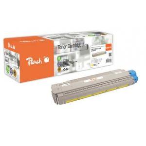 Peach  Tonermodul gelb kompatibel zu OKI C 8600 N 7640155896900