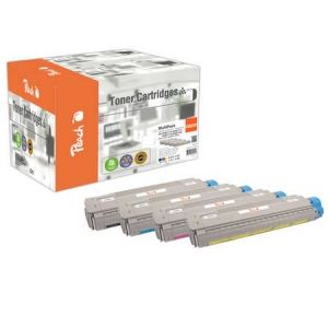 Peach  Spar Pack Tonermodule kompatibel zu OKI C 8600 N 7640155896917