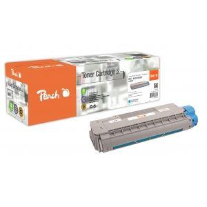 Peach  Tonermodul cyan kompatibel zu OKI C 610 DN 7640155896931