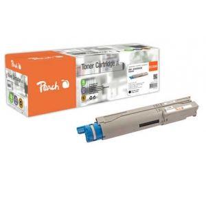 Peach  Tonermodul schwarz kompatibel zu OKI C 3300 7640155896979