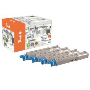 Peach  Spar Pack Tonermodule kompatibel zu OKI C 3300 7640155897013