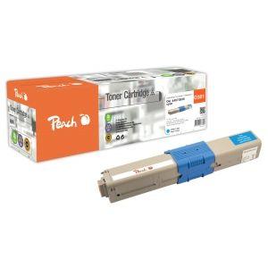 Peach  Tonermodul cyan kompatibel zu OKI MC 342 DN 7640162273589