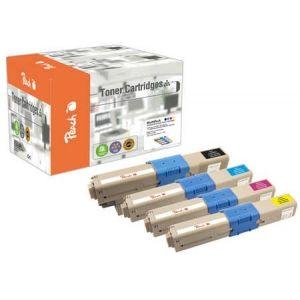Peach  Spar Pack Tonermodule kompatibel zu OKI MC 342 DN 7640162273619