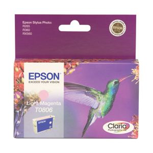 Original  Tintenpatrone magenta light Epson Stylus Photo PX 800 FW 8715946360904