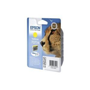 Original  Tintenpatrone gelb Epson Stylus SX 210 Series 8715946495545