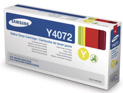Original  Tonerpatrone gelb Samsung CLP-320 N