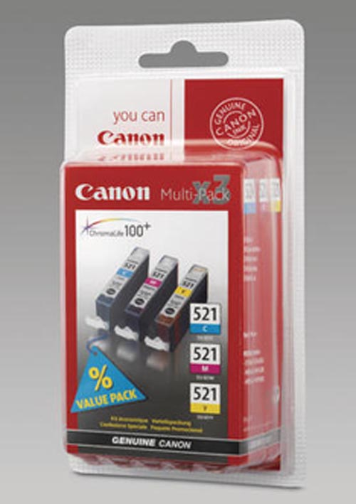 Original  Multipack Tinte color, Canon Pixma MP 620