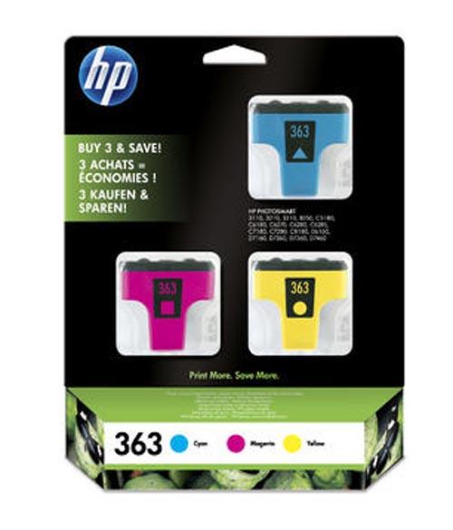 Original  3-Pack Tinte color, HP PhotoSmart 8250