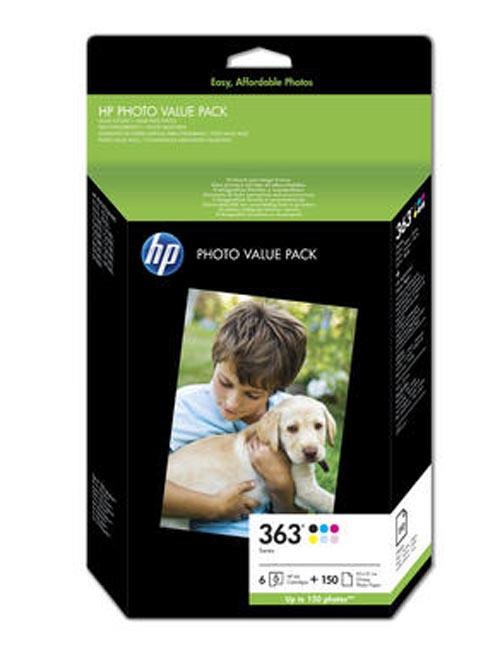 Original  Bundle Tinte color, 6-farbig, HP PhotoSmart 8250