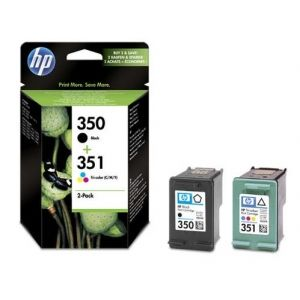 Original  Combopack Tinte bk, color HP OfficeJet J 5780