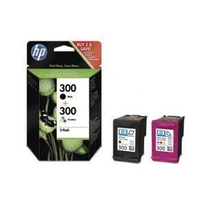 Original  Combopack Tinte schwarz, color HP DeskJet F 4213 0884962770160