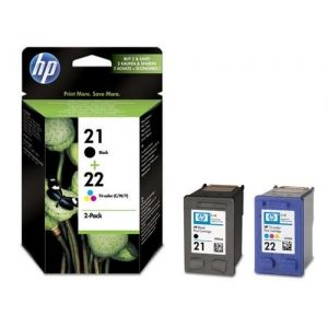 Original  Combopack Tinte schwarz, color, HP OfficeJet 4300 Series 0883585651719