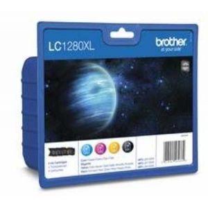 Original  Valuepack HY, Tinte schwarz, color, Brother MFCJ 6510 DW 5014047562662