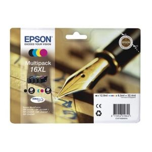 Original  Multipack Tinte XL BKCMY Epson WorkForce WF-2540 WF