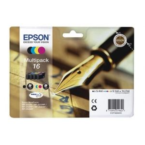 Original  Multipack Tinte BKCMY Epson WorkForce WF-2540 WF