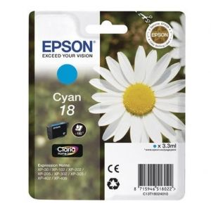 Original  Tintenpatrone cyan Epson Expression Home XP-302 8715946518022
