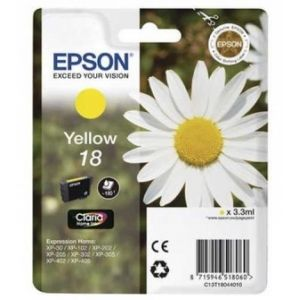 Original  Tintenpatrone gelb Epson Expression Home XP-302 8715946518060