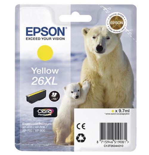 Original  Tintenpatrone XL gelb Epson Expression Premium XP-700