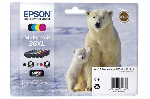 Original  Multipack Tinte XL PBKCMY Epson Expression Premium XP-700