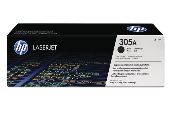 Original  Tonerpatrone schwarz HP LaserJet Pro 400 color M 451 dn