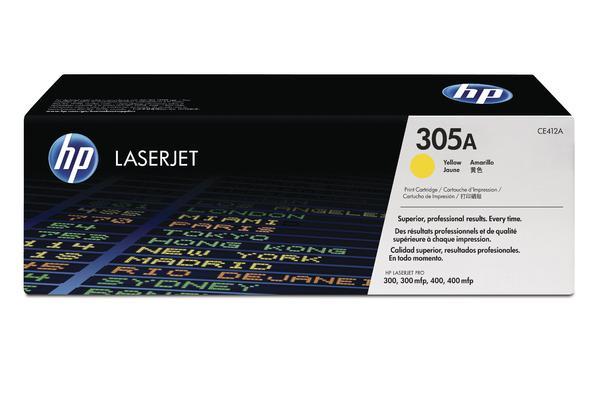 Original  Tintenpatrone gelb HP LaserJet Pro 400 color M 451 dn