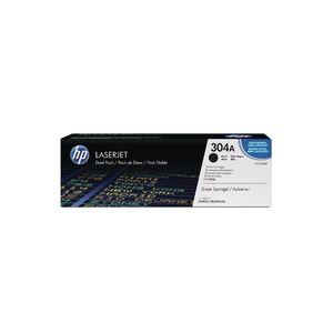 Original 2  Tonerpatronen schwarz HP Color LaserJet CP 2025 N 0884420242611