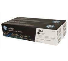 Original 2  Tonerpatronen schwarz HP LaserJet CP 1025 Color