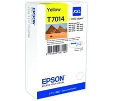 Original  Tintenpatrone XXL gelb Epson WorkForce Pro WP-4095 DN