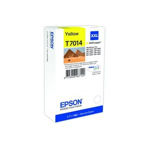 Original  Tintenpatrone XXL gelb Epson WorkForce Pro WP-4095 DN 8715946487120
