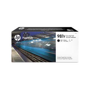 Original  Tintenpatrone schwarz HP PageWide Enterprise Color Flow MFP 586 dn 0889296095323