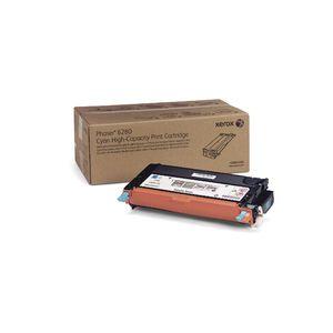 Original  Tonerpatrone cyan Xerox Phaser 6280 DN 0095205747263