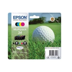 Original  Multipack Tinte BKCMY Epson WorkForce Pro WF-3700 Series 8715946632117
