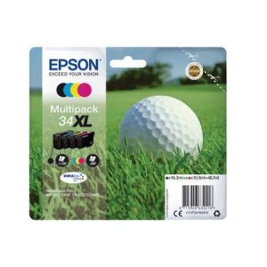 Original  Multipack Tinte BKCMY Epson WorkForce Pro WF-3700 Series 8715946632216